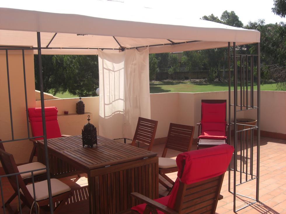 Alquiler apartamento con vistas al campo de golf en Las Villas de Islantilla