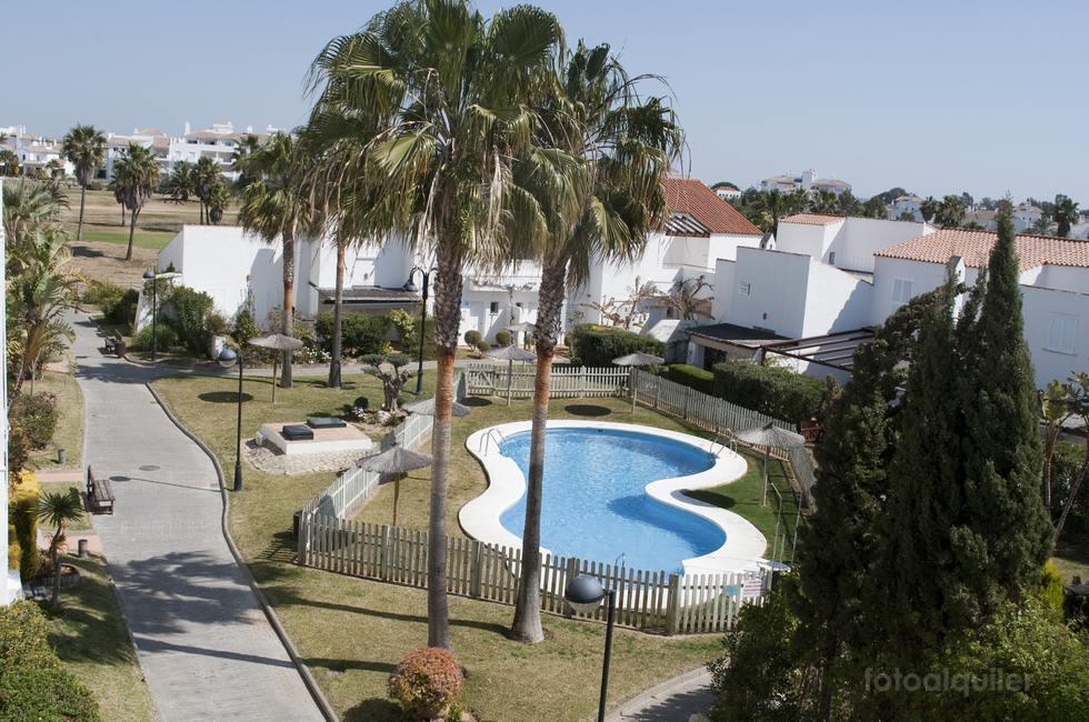 Apartamento con vistas al campo de golf en Costa Ballena, Salinas Club