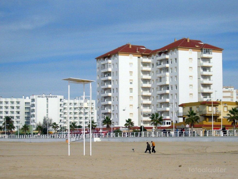 Apartamento 6 personas primera linea playa, Puerto de Santa Maria