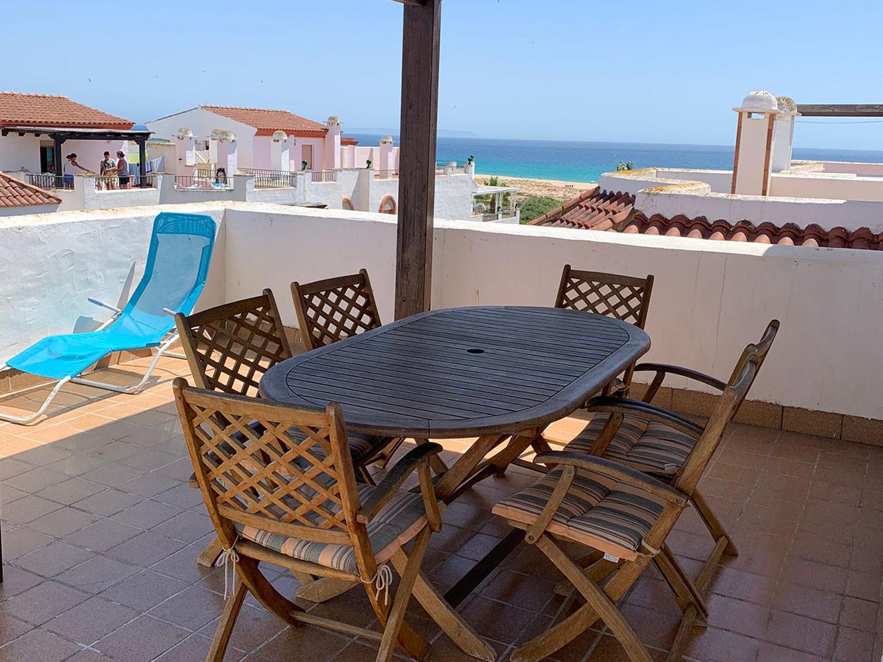 Apartamento vacaciones en primera linea de playa en Zahara de los Atunes