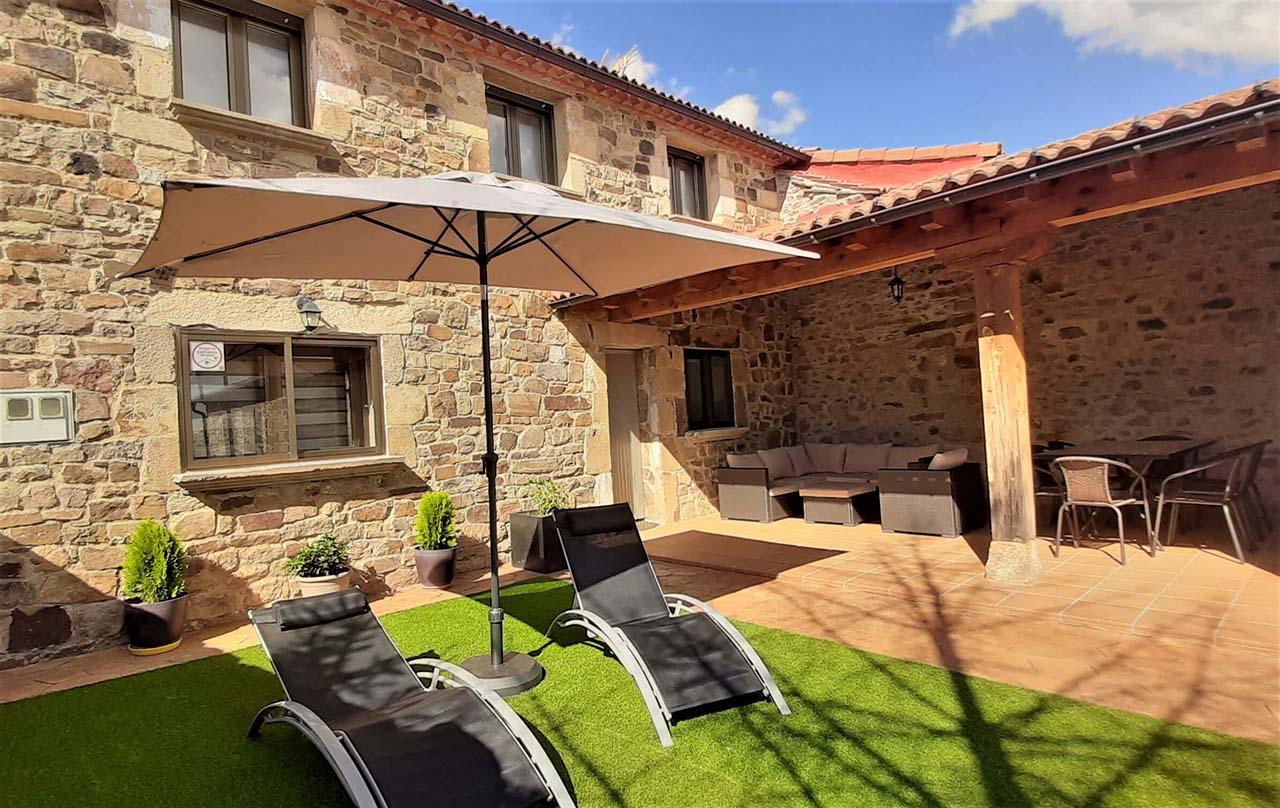 Casa Rural Acebarillo en Torrearévalo, Soria.