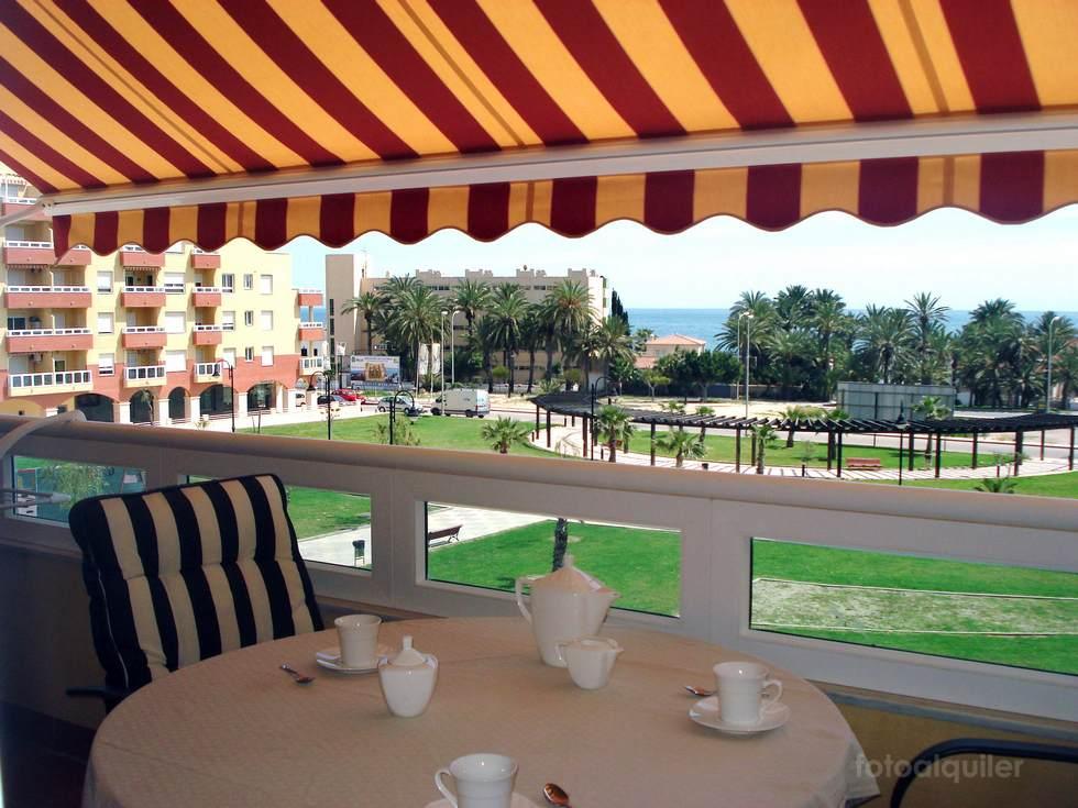 Alquiler de piso en la urbanización Torrequebrada, Aguadulce, Almería, ref.: aguadulce10757