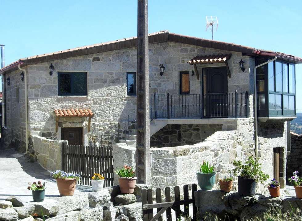 A Laxeira, apartamentos rurales en la Ribera Sacra, Carballedo, Lugo