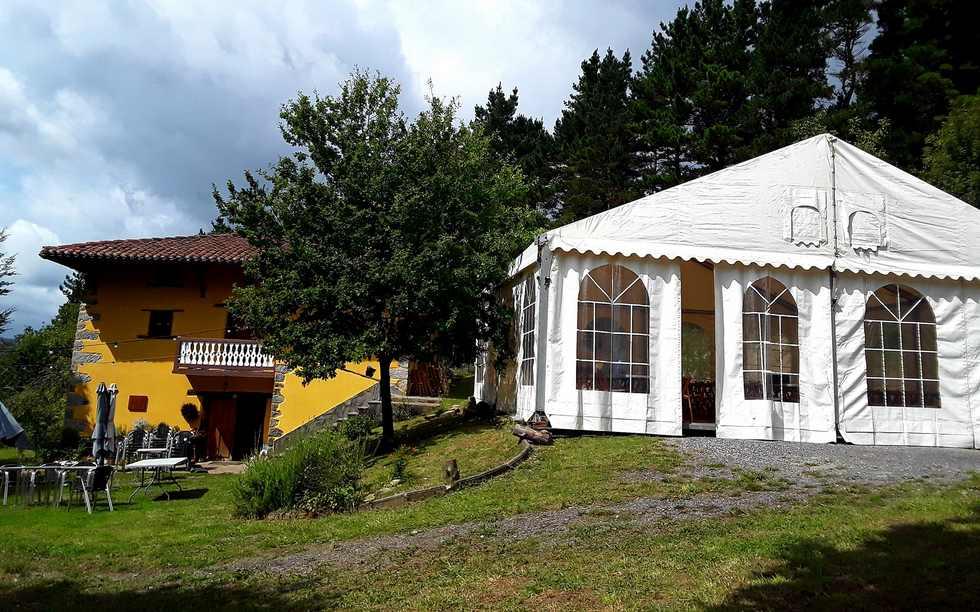 Albergue Mandoia Aterpetxea en Aránzazu Celaya, Vizcaya