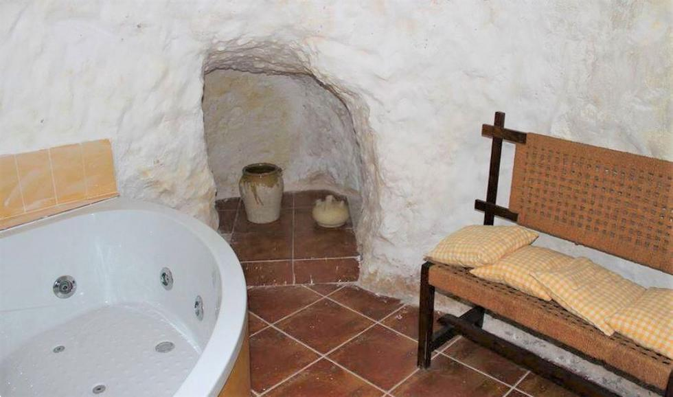 Paraíso del Júcar, casa cueva en Alcalá del Júcar, Albacete