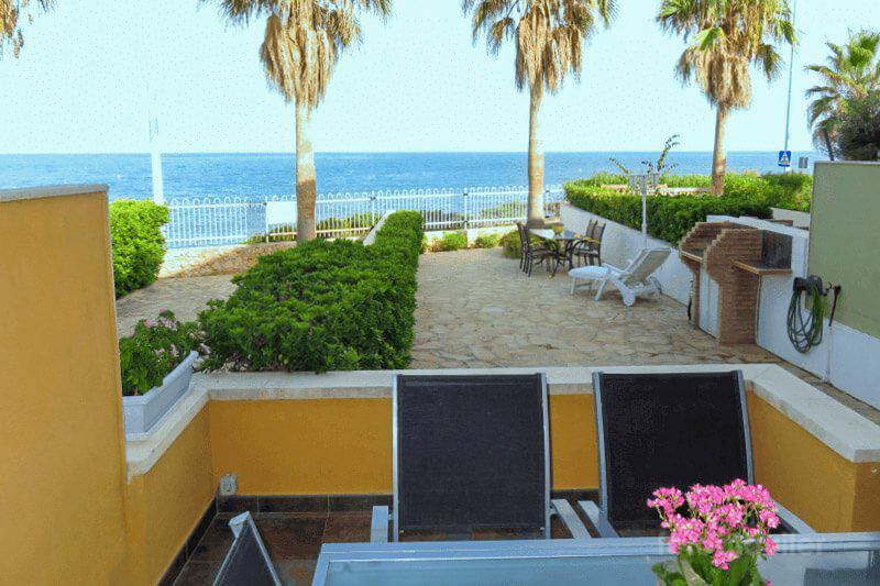 Apartamento en primera linea de playa, Urbanización Tres Playas, Alcocéber