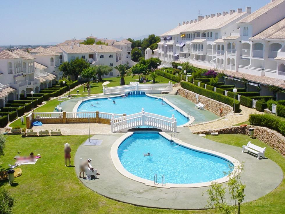Alquiler de apartamentos para vacaciones en Alcossebre, Urbanización Al-Andalus