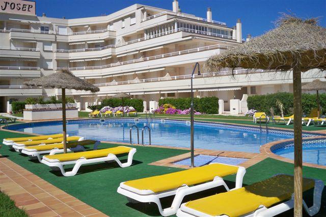 Apartamento en la urbanización Cala Josep, primera línea playa, Alcocéber, Castellón, ref.: alcoceber2869