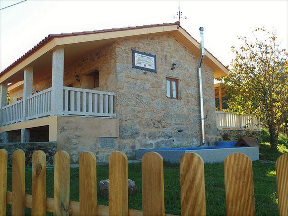 A Casa do Aloumiño da Agua, casa rural en Lougares, Mondariz, Pontevedra