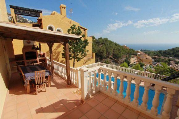 Alquiler de Villa en la urbanización Altea Hills, Altea, Alicante, ref.: altea-10811