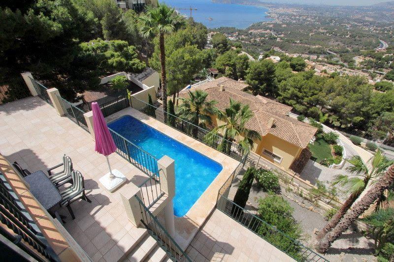 Alquiler de chalet con piscina privada en Altea Hills, Altea, Alicante, ref.: altea-10816