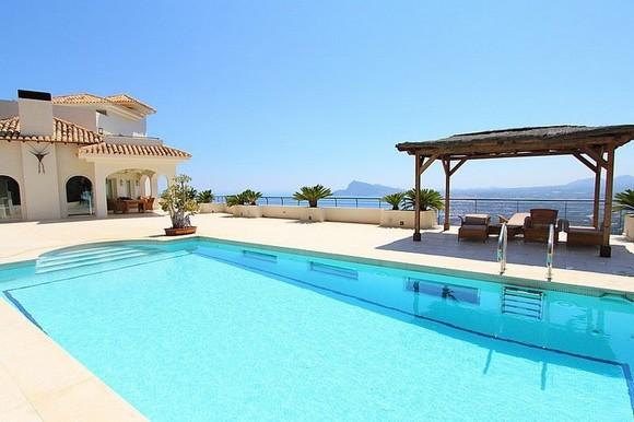 Alquiler de villa de lujo con piscina privada en Altea Hills, Altea, Alicante, ref.: altea-10817