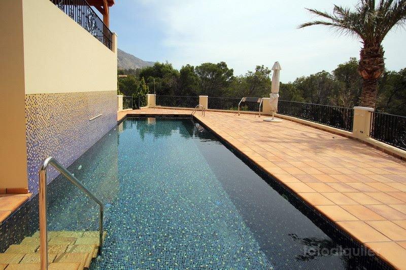 Alquiler de villa de lujo con spa y piscina privada en Monterico, Altea la Vella, Altea, Alicante, ref.: altea-10818