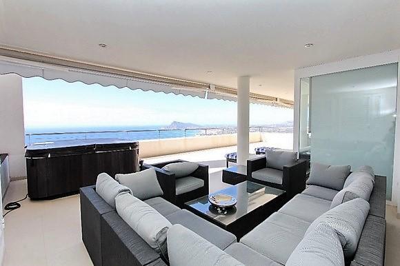 Alquiler de apartamento de lujo con jacuzzi en Altea Hills, Altea, Alicante,ref.: altea-10832