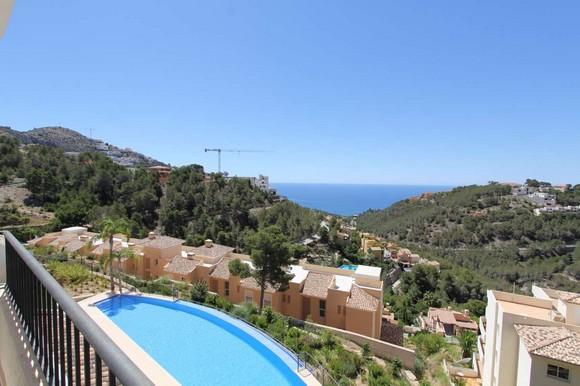 Alquiler de apartamento en la urbanización Altea Hills, Altea, Alicante,ref.: altea-10836