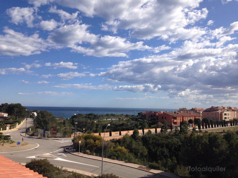 Alquiler de apartamento con vistas al mar en L´Ametlla de Mar, Costa Dorada, Tarragona