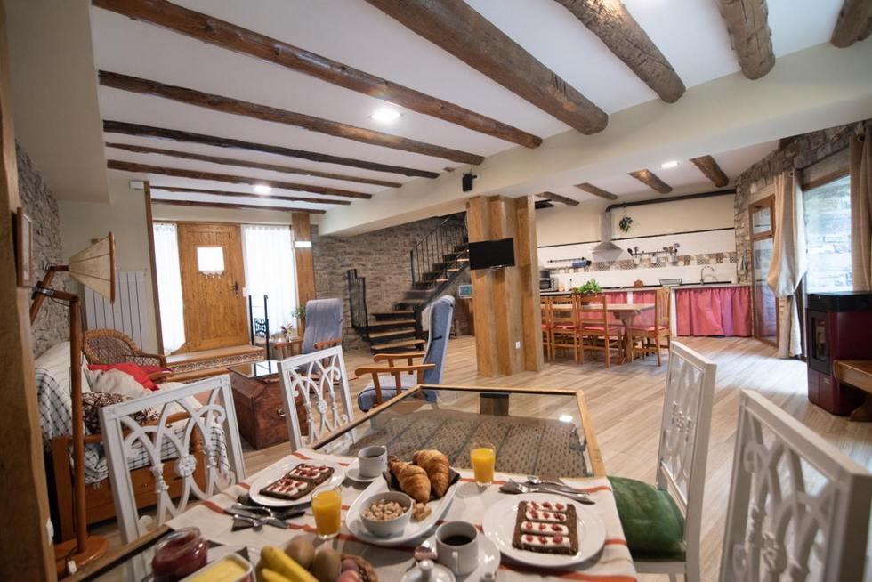 Apartamentos Casa Maza en Biescas, Huesca