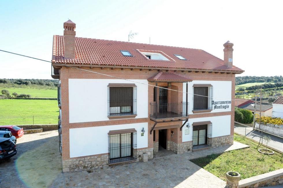 Monfragüe, apartamentos rurales en Torrejón el Rubio, Cáceres.