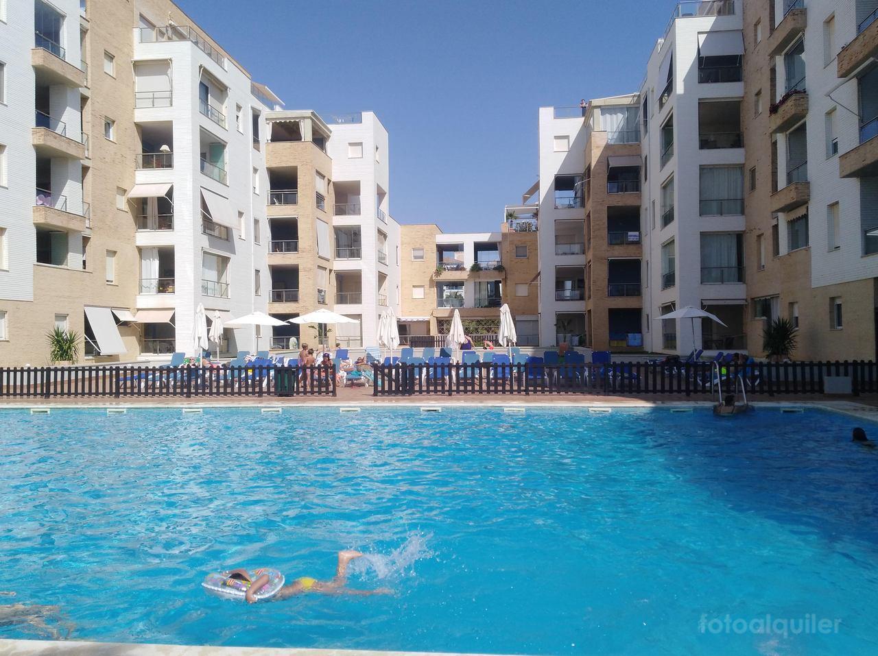 Apartamento con acceso directo a la playa en Punta del Moral, Huelva