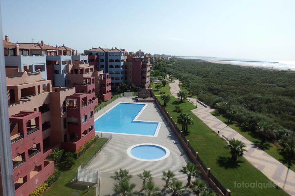 Apartamento primera linea de playa, Urbanización Las Palmeras, Ayamonte