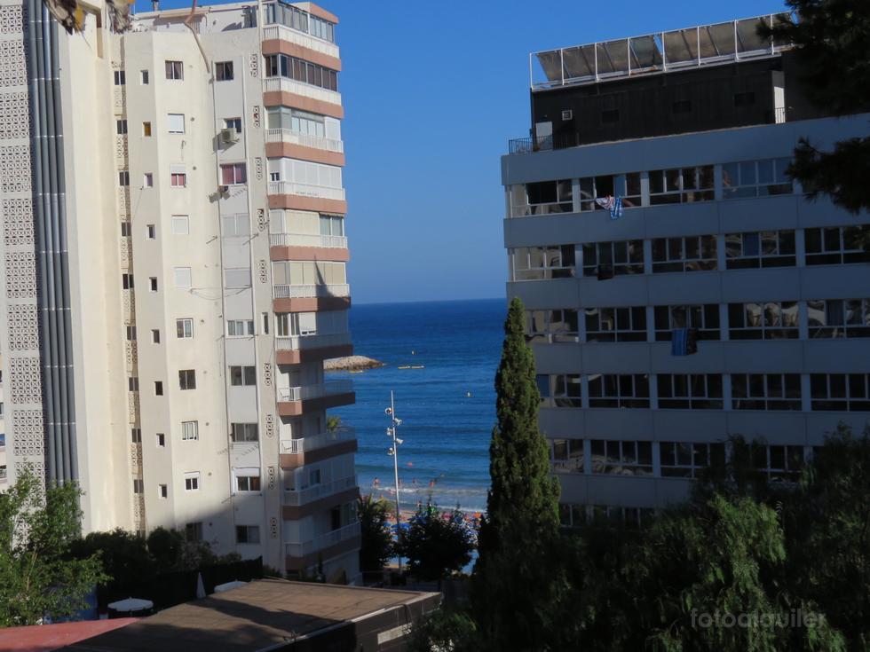 Alquiler de piso dos dormitorios en la playa de Poniente en Benidorm
