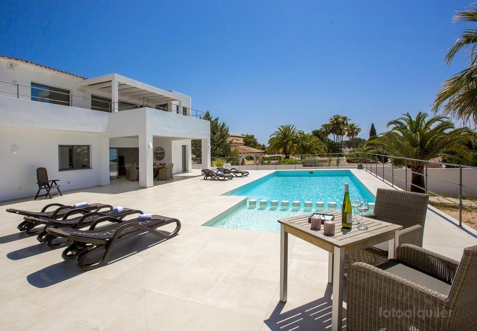 Villa La Famisol en Benissa, Costa Blanca, Alicante, España.