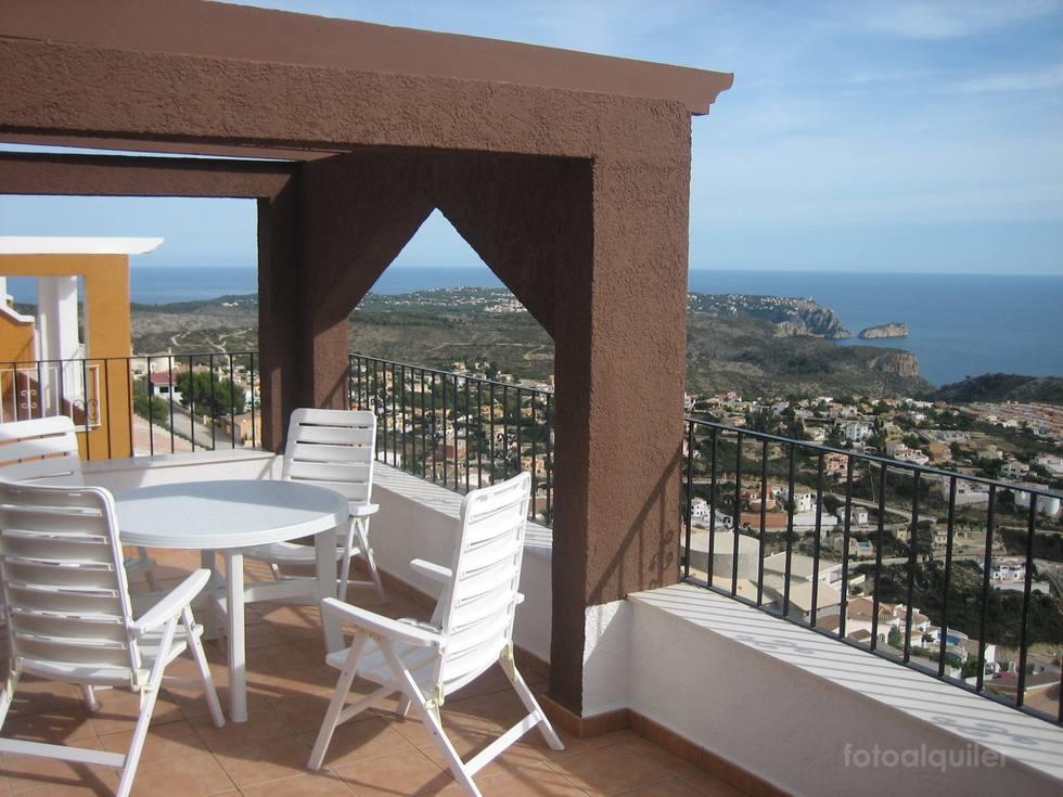 Apartamento en Benitachell con vistas al mar, Pueblo Panorama, Alicante