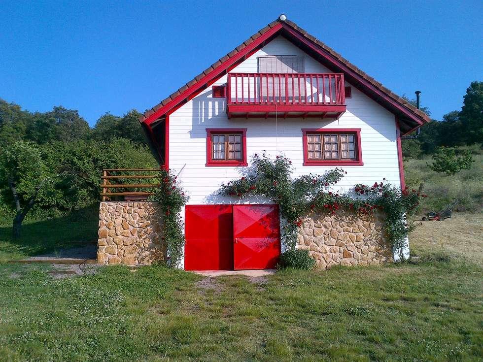 Casa Rural Cabaña El Prado en Galaroza, Huelva