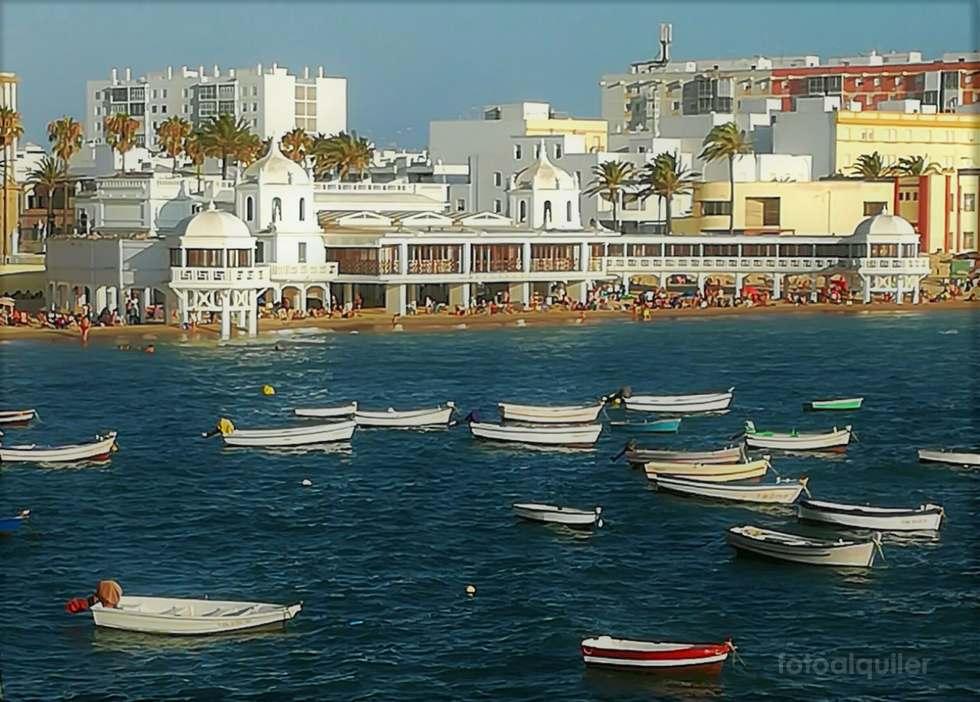 Apartamento en playa de La Caleta, Cadiz, barrio La Viña