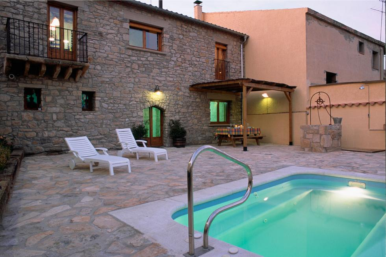 Cal Caminer, alquiler de casa rural en Guimerá, Lleida