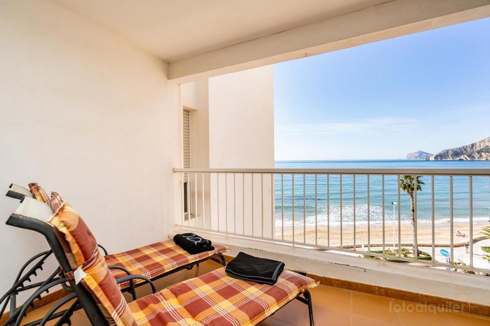 Apartamento en primera línea de playa en Calpe, Alicante