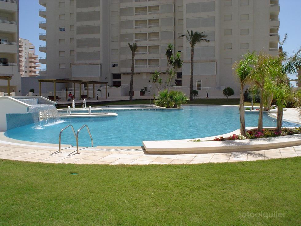 Apartamento en alquiler primera linea de playa en Calpe, Alicante
