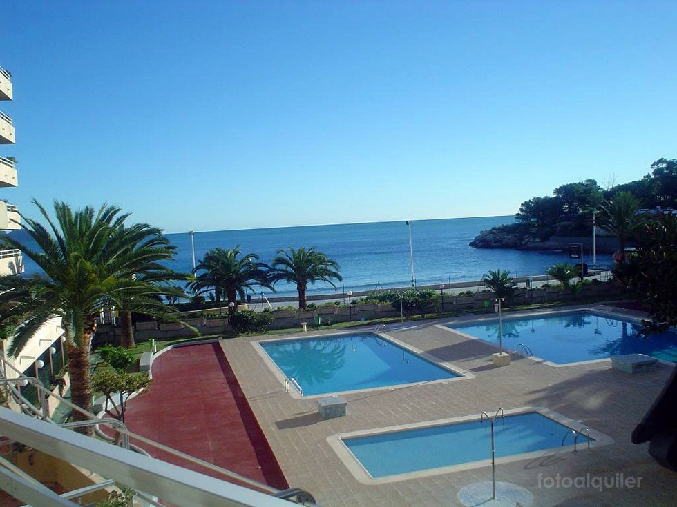 Alquiler de apartamento en Calpe, Primera linea playa de Levante, Alicante
