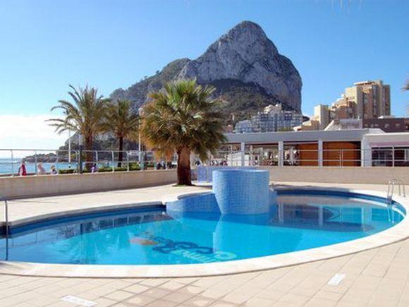 Apartamento en primera línea, Residencial Nuevo México, Calpe, Alicante, ref.: calpe5541