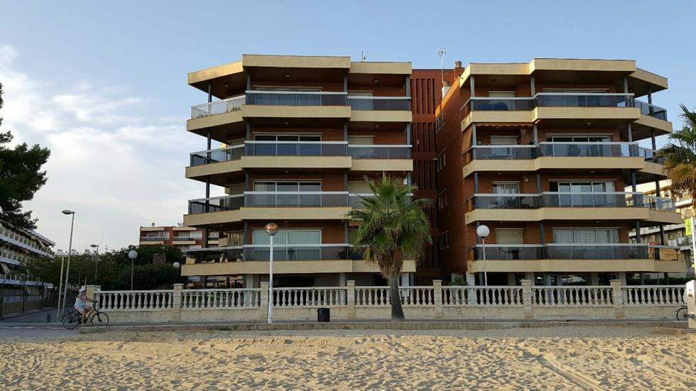 Apartamento en primera linea de playa en Cambrils, Tarragona