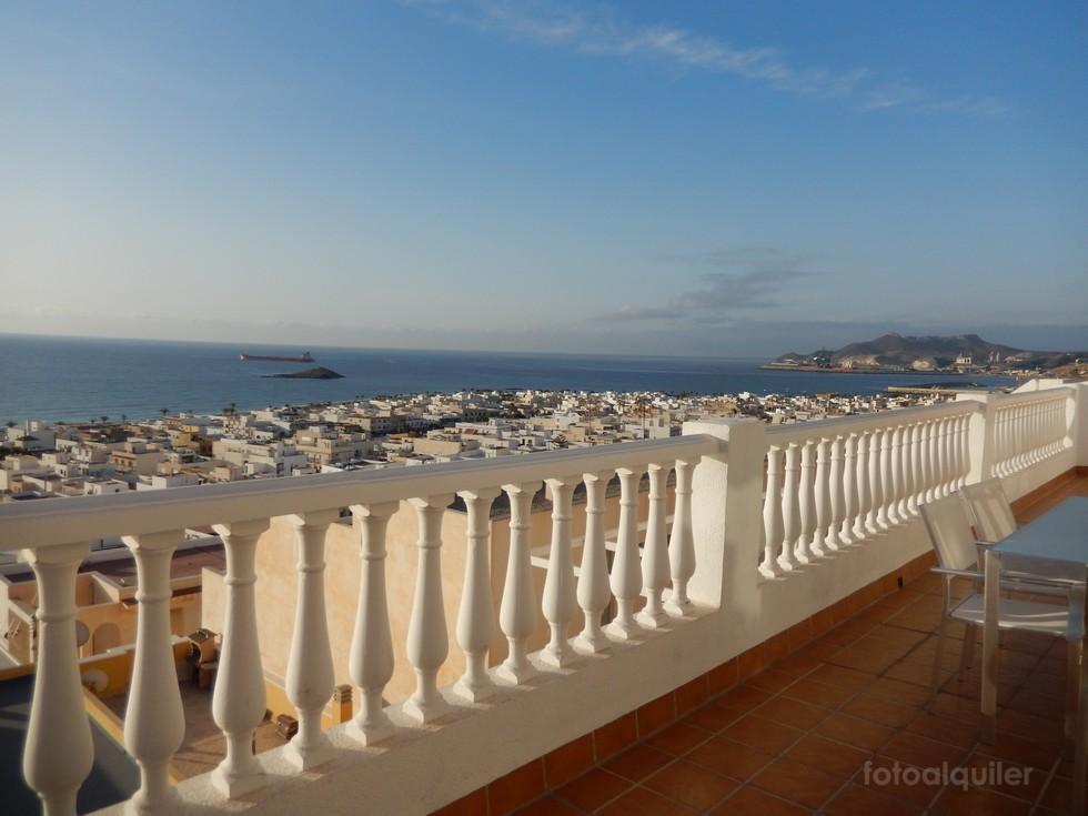 Alquiler de ático en Carboneras, vistas al mar, Almería, ref.: carboneras7142