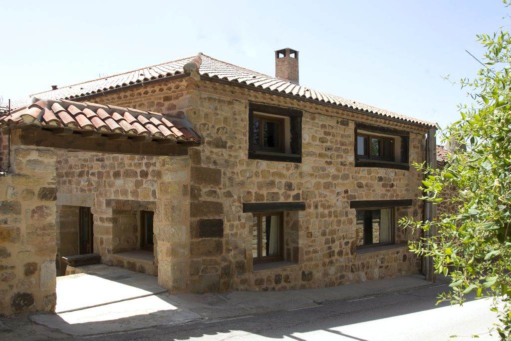 Alquiler de casa rural Casa Albada II, casa con barbacoa en Pedrajas, Soria