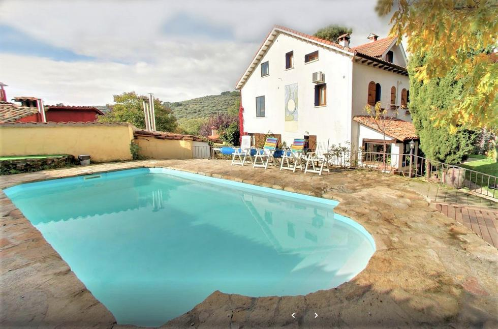 Casa Crisol, cabañas independientes en Centro de Turismo Rural con spa y piscina en Arenas de San Pedro, Avila