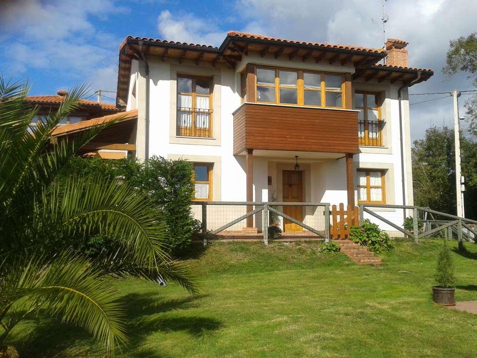 Alquiler de Casa de Aldea El Boo con jardín y barbacoa en Carabaño, Cabranes, Asturias