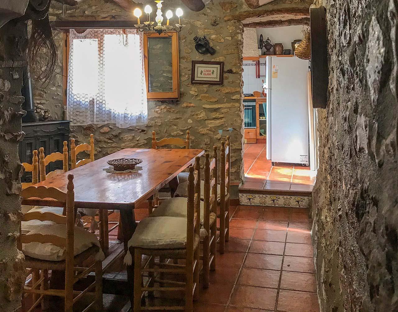 Casa Elisa, alojamiento rural en Masdenverge, Tarragona