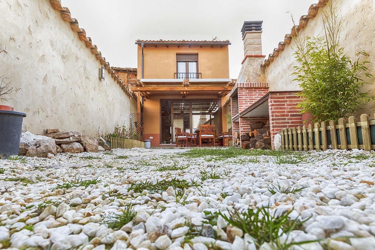 Casa Gañán en Langa de Duero, Soria. Casa para 8 personas en la Ruta Ribera del Duero.