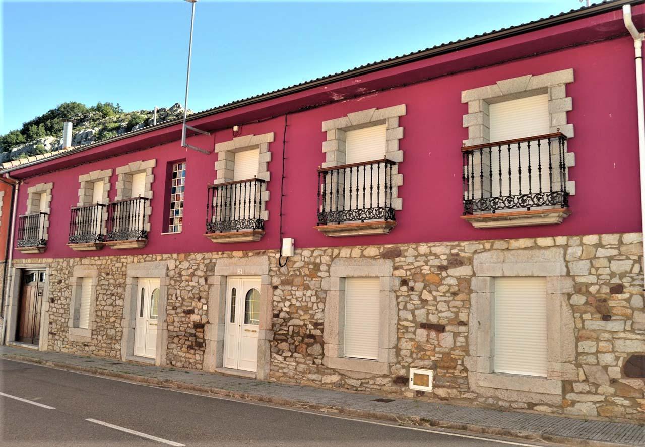 La Cuadra I, casa rural en Cabornera de Gordón, León.