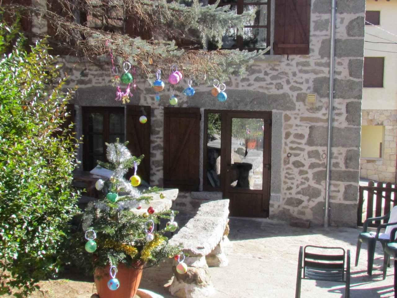 La Esperilla, casa rural en para 13 personas en la Sierra de Gredos, Barajas, Avila