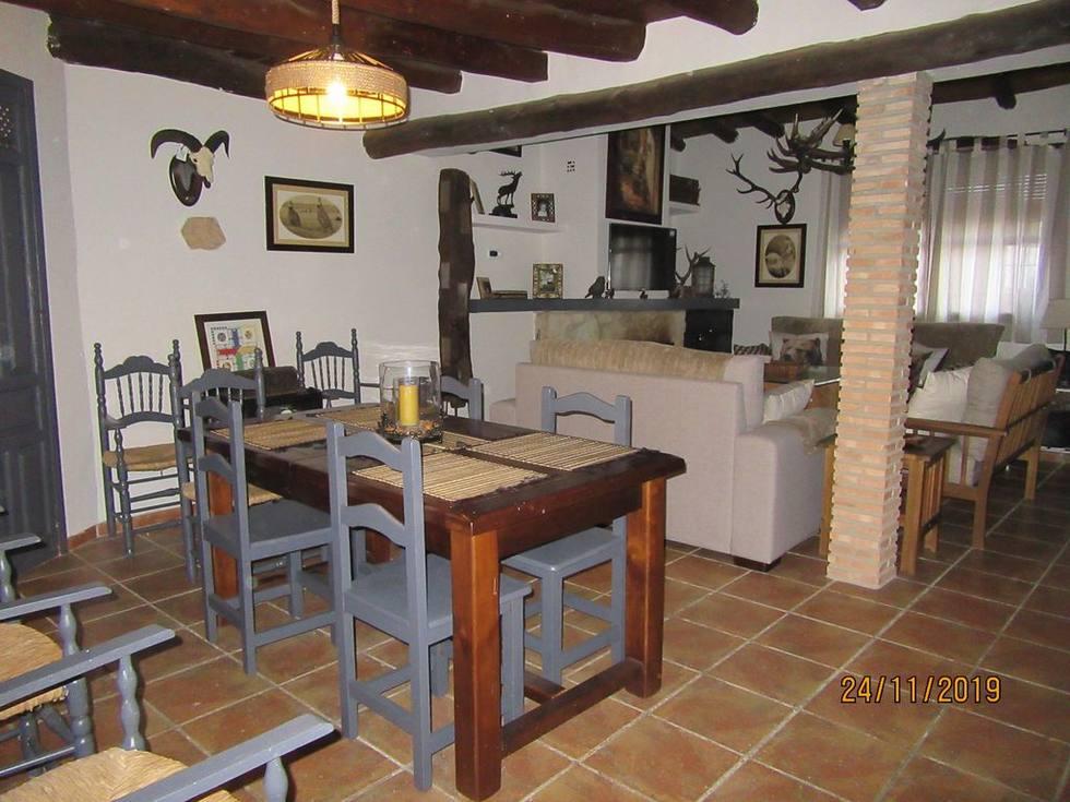 Alquiler de Casa Rural La Montera en la aldea El Alcornocal, Fuente Obejuna, Córdoba.