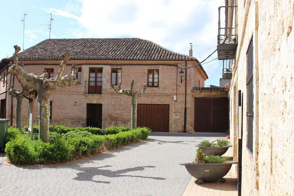 Casa Rural Abánades, casa grande con billar en Burgos, Melgar de Fernamental.