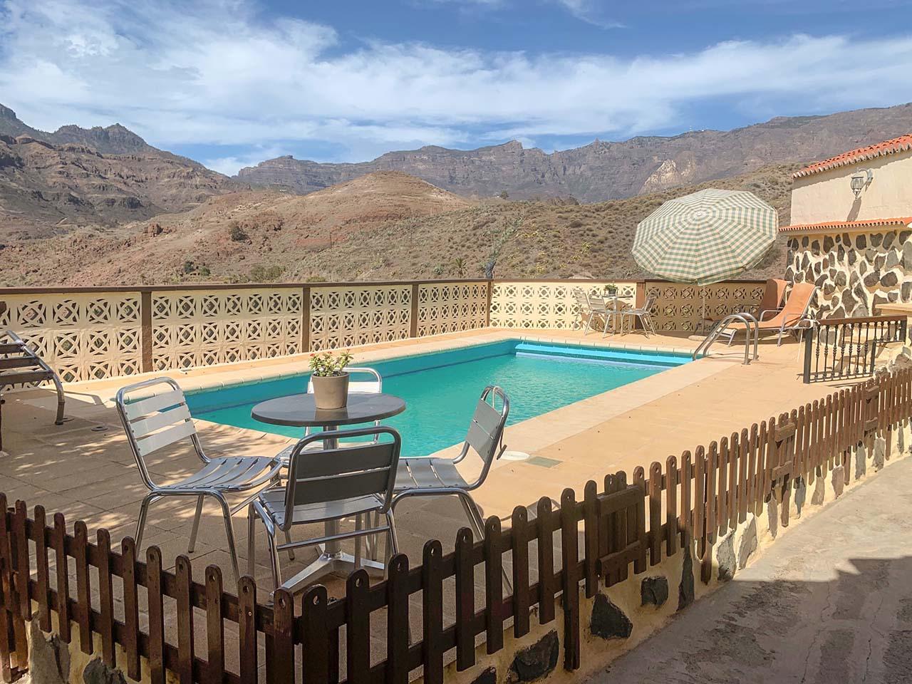 Ca Saro, casa rural con piscina en Gran Canaria, Santa Lucía de Tirajana