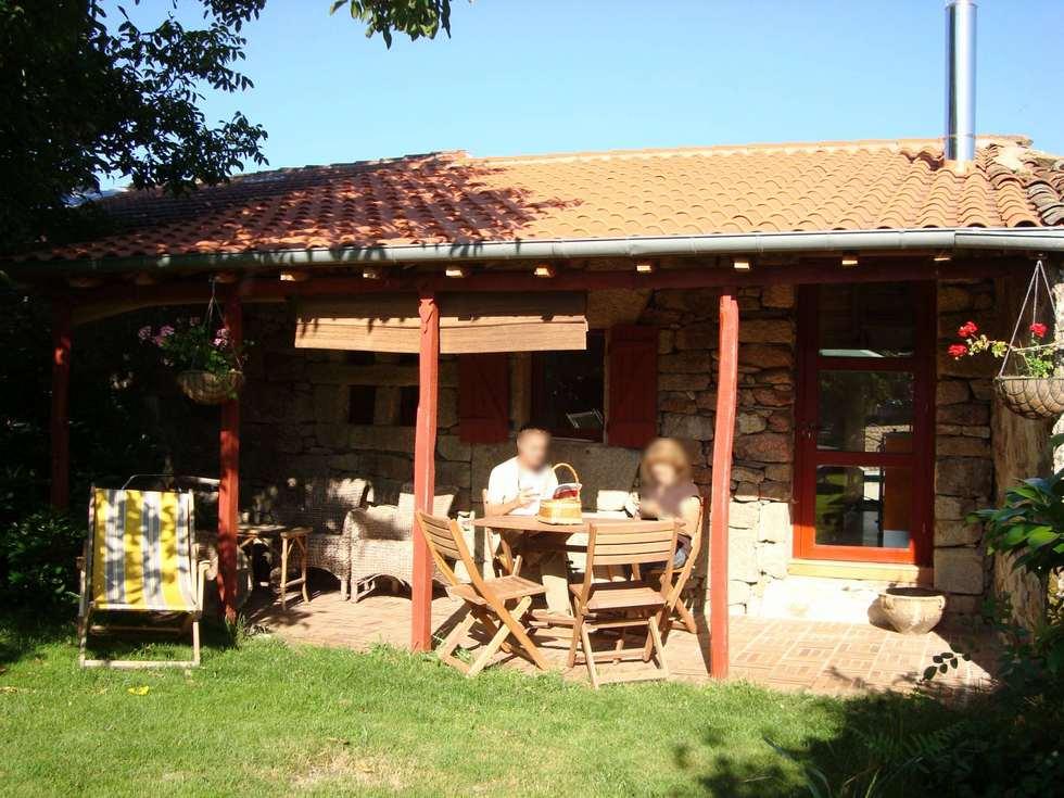 Alquiler de apartamento rural Casa Verdello, Alberguería, Ourense.