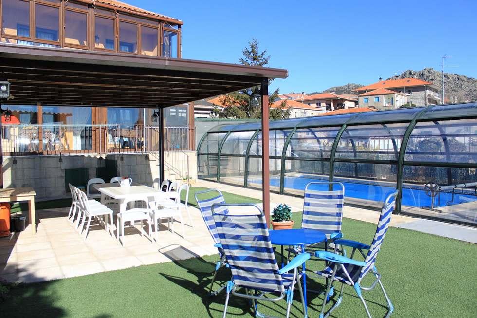 Casa Zarzal, casa rural con SPA y piscina climatizada en la Sierra de Guadarrama, Zarzalejo, Madrid