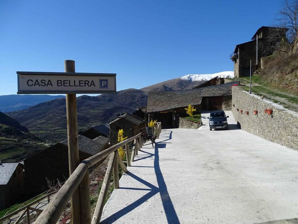 Casa Bellera, casa rural en Caregue, Lleida, Vall d´Àssua, Pallars Sobirà.