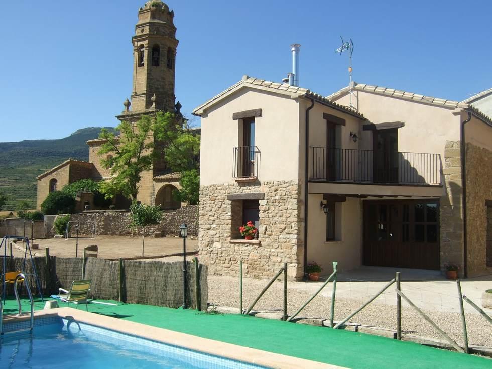 Casa Bernués, casas rurales en Huesca, Aniés